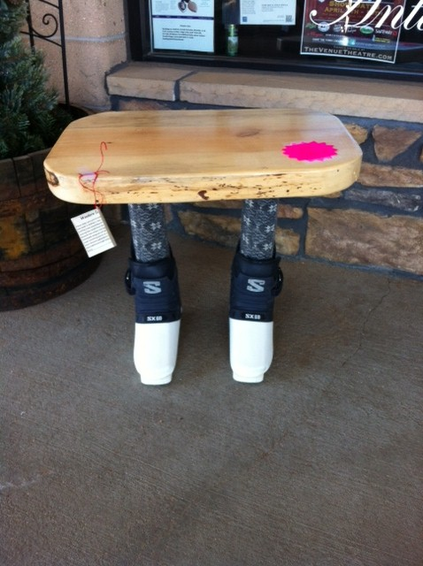 Ski Boot Table